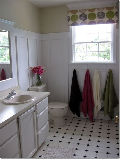 Design My Own Bathroom Free by How I Transformed A Vinyl Floor For 10 00 In My Own Style