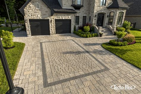 masonry outdoor fireplace techo bloc driveway stoop stair walkway