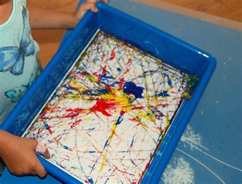 marble painting ms stephanies preschool