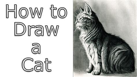 drawing cat draw drawings watercolors forward tutorial