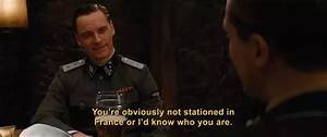 How did Michael Fassbender's character in the movie ...
