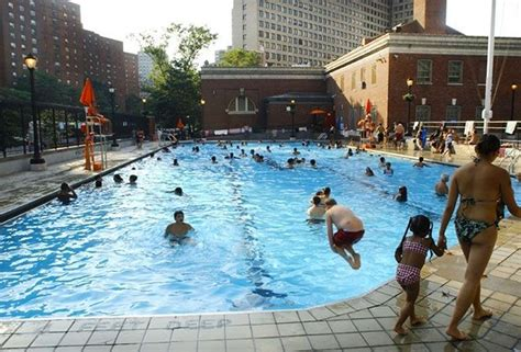 New York City Public Pools Open For Summer 2016
