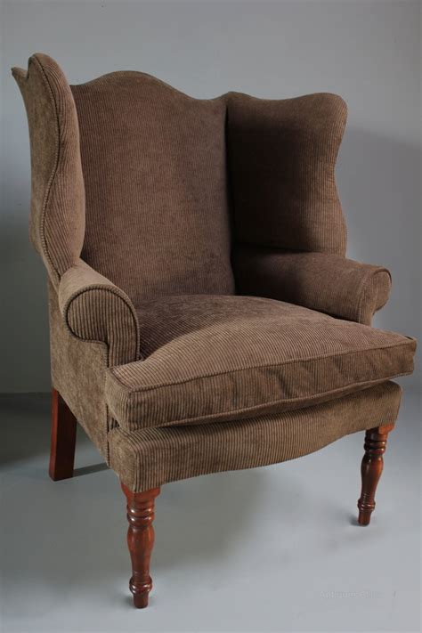 vintage chairs for vintage pair of wing armchairs antiques atlas 6784