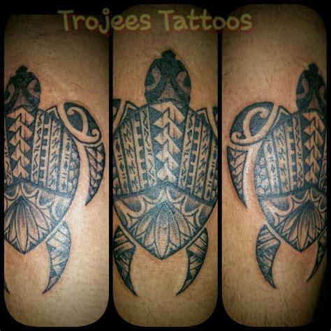 Fiji Tattoo Polynesian Turtle By Paul Sosefo  Tattoo In