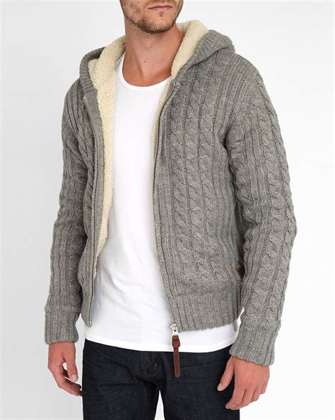 sherpa sweater sherpa lined cable knit sweater bronze cardigan