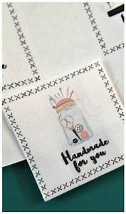 printable diy fabric labels allfreesewingcom With diy woven labels