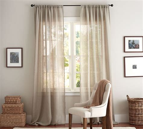 Sheer Drapes best 25 pottery barn curtains ideas on