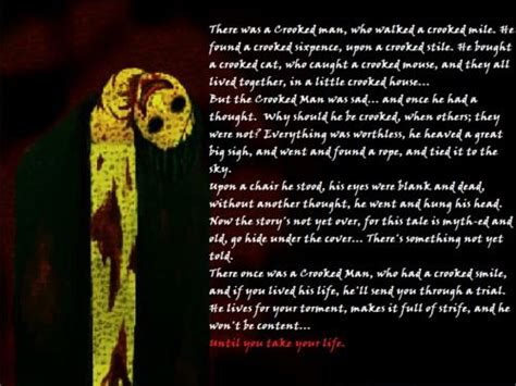 Awesome Poem!!! The Crooked Man  Rpg Horror Gamesd