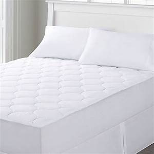 Quilted waterproof mattress pad fits 16 inch deep for Bed bug and waterproof mattress protector