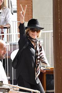 Jane Fonda arrives in Italy ahead of Venice Film Festival ...