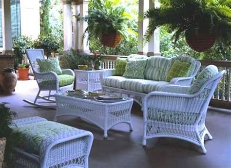 Porch And Patio Furniture by Wicker Furniture For Garden Porch And Patio
