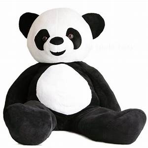 Panda Peluche Géant : peluche g ante panda ~ Teatrodelosmanantiales.com Idées de Décoration
