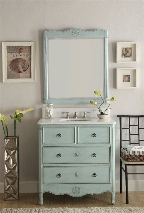 34 inch vanities for bathrooms chans furniture hf081lb daleville 34 inch distressed blue