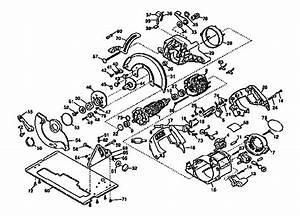 Dewalt 7 1  4 U0026quot  Circular Saw Parts