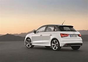 Audi A1 2012 : 2012 glacier white audi a1 sportback s line rear eurocar news ~ Gottalentnigeria.com Avis de Voitures