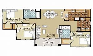 beautiful modern 3 bedroom house plans modern house plan With beautiful 3 bedroom house plans