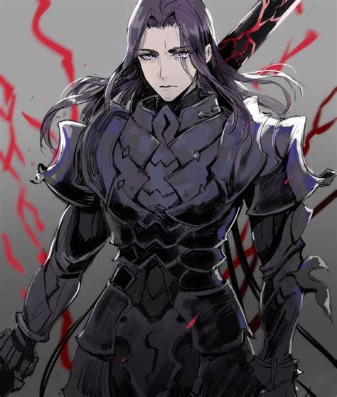 berserker lancelot dlac diseno de personajes
