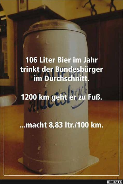 liter bier im jahr trinkt der bundesbuerger