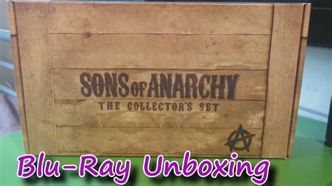 Sons Of Anarchy Complete Series Boxset Blu-ray Unboxing Uk