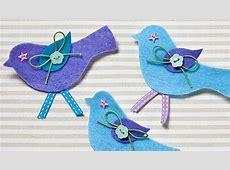 How to Make Felt Bird Brooches Hobbycraft Blog