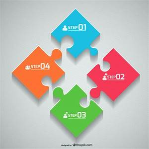 Puzzle pieces Vector | Free Download