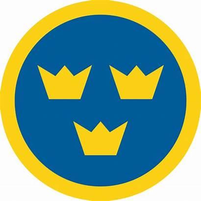 Swedish Crowns Three Roundel Sweden Symbol Symbols
