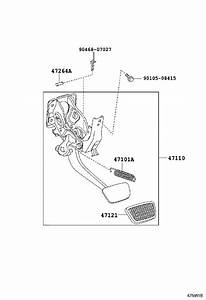 Toyota Tundra Support Assembly  Brake Pedal  Suspension