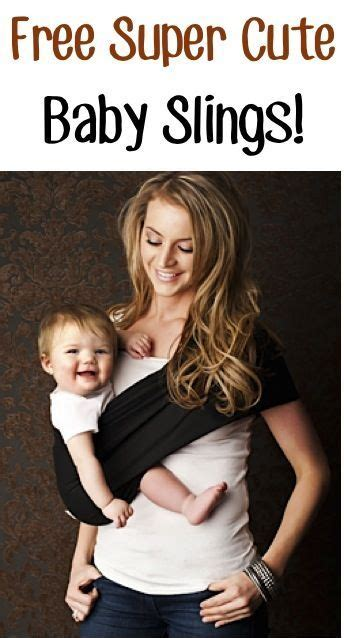 Free Super Cute Baby Sling Just Pay Sh These Slings