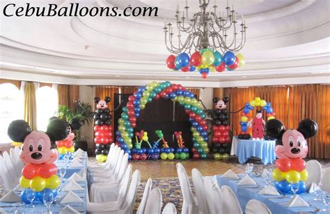 Mickey Mouse Decorations by Mickey Mouse Cebu Balloons And Supplies