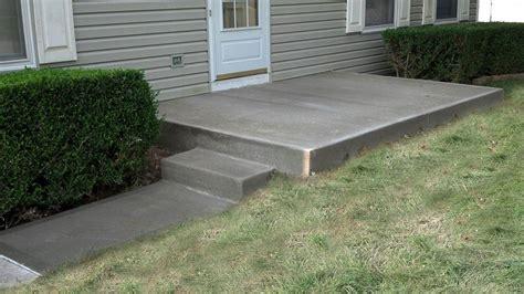 concrete patio dayton ohio concrete patio centerville