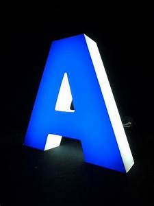 3d letter outdoor indoor illuminated led sign backlit shop With backlit acrylic letters