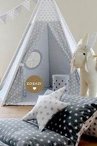 Zelt Kinderzimmer Nähen : dekoration tipi set mix sterne und wolken ein designerst ck von babika zoe bei dawanda ~ Markanthonyermac.com Haus und Dekorationen