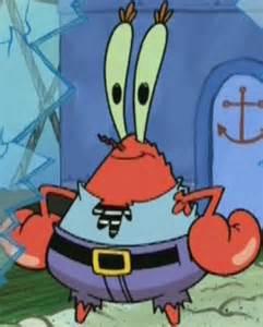 Spongebob Mr. Krabs