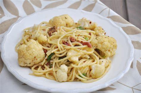 recette avec lardons et pates pasta con cavolfiore l idea per preparare e cucinare la