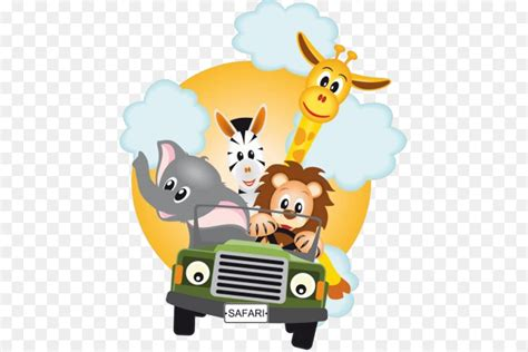 cartoon safari animals png