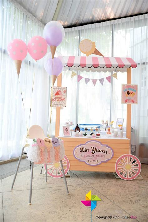 sweet ice cream party ideas pretty  party party ideas