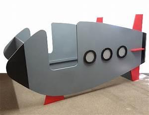 Cohete O Nave Espacial Cama Para Nio