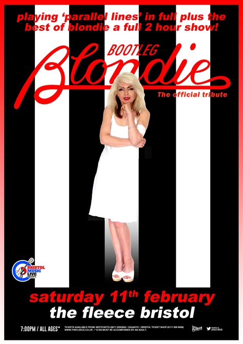 Bootleg Blondie Doing Parallel Lines In Its Entirity