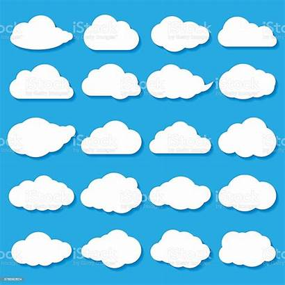 Cloud Illustration Shapes Vector Abstract Vectors Aerial