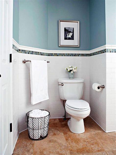 white bathroom tiles  border ideas  pictures
