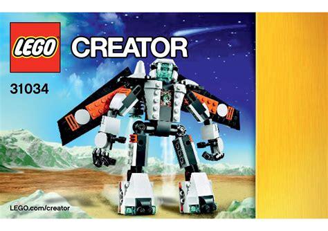 lego 31034 future flyer robot lego creator 3