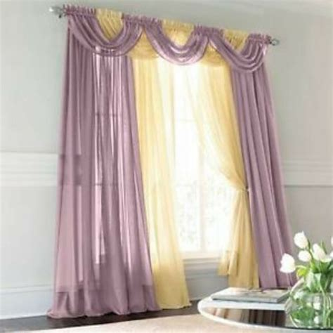 Jcpenney Custom Draperies by Jcp Lisette Sheer Pinch Pleated Drapery Merlot Frosted