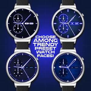 App Neon Blue Watch Face APK for Windows Phone