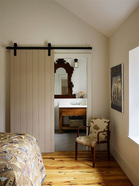 bathroom door designs 15 sliding barn doors that bring rustic to the bathroom