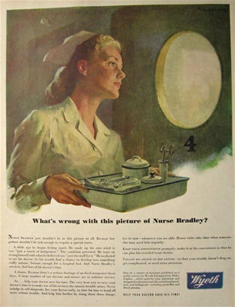 1945 Wyeth Pharmaceuticals Ad ~ Haddon Sundblom, Vintage ...