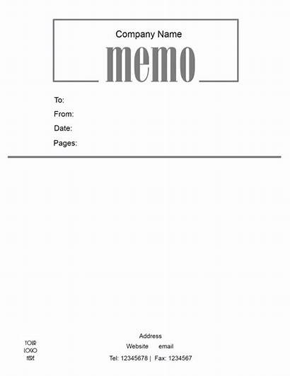 Memo Template Printable Format Company Pdf Word