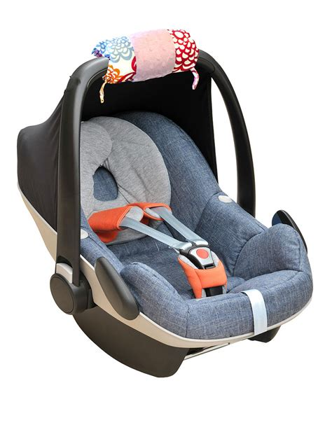 si鑒e auto formula baby itzy ritzy ritzy wrap infant car seat handle cushion fresh bloom stage stores