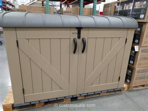 lifetime horizontal shed lifetime products horizontal resin shed