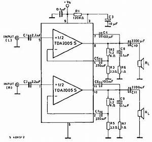 20 watts car amplifier circuit using tda2005 integrated With what are you smoking automating short circuit testing for automotive
