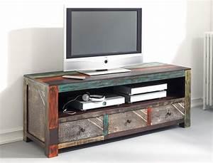Tv Möbel 60 Cm Hoch : lowboard 150x60x55 cm mango metall tv m bel tv schrank used look vintage punjab ebay ~ Bigdaddyawards.com Haus und Dekorationen